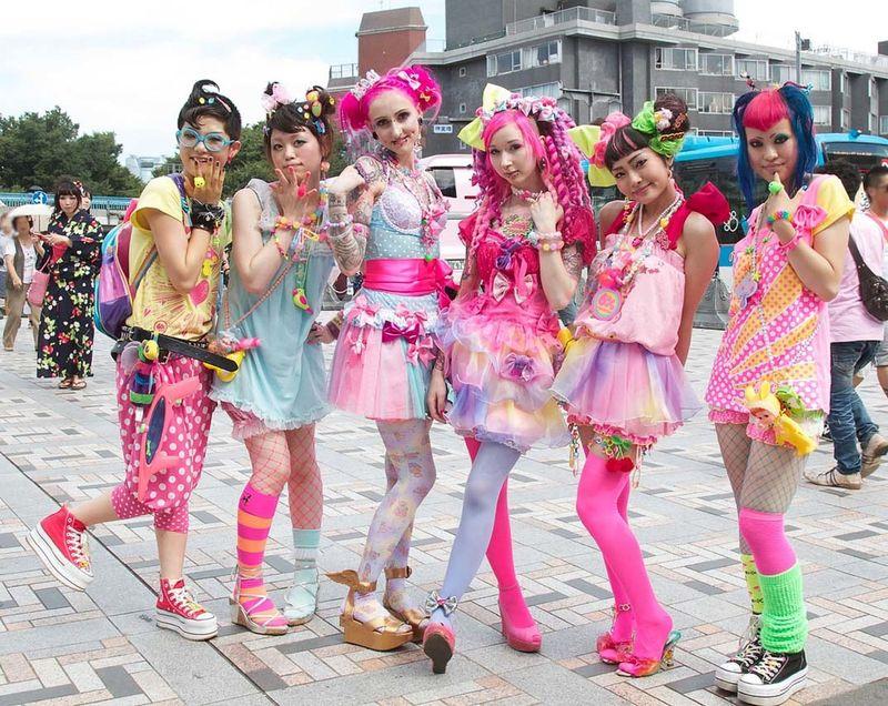 японская вечеринка одежда фото