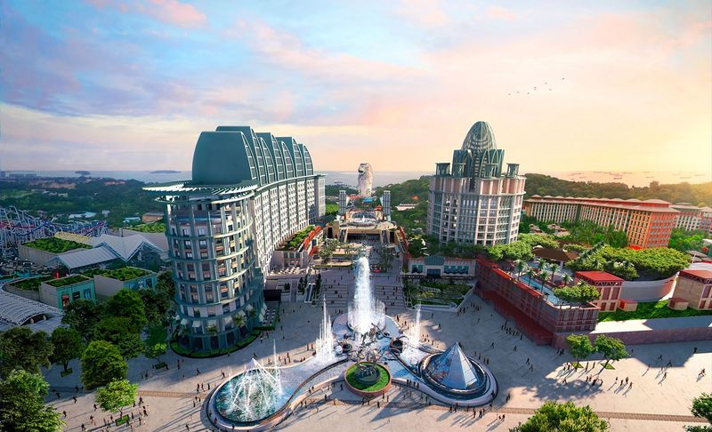 Resorts World Sentosa Сингапур