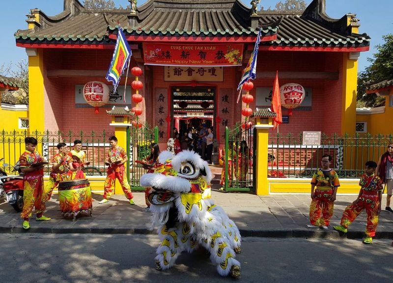Китайский храм общины Фуджиен